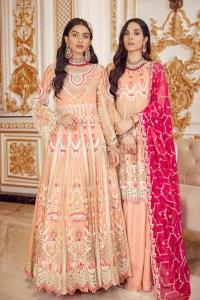 Emaan Adeel BR-04 BERRY SORBET Belle Robe Wedding Edition