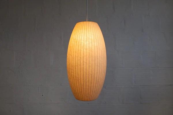 ORIGINAL 1950S GEORGE NELSON CIGAR BUBBLE LAMP MINT  The