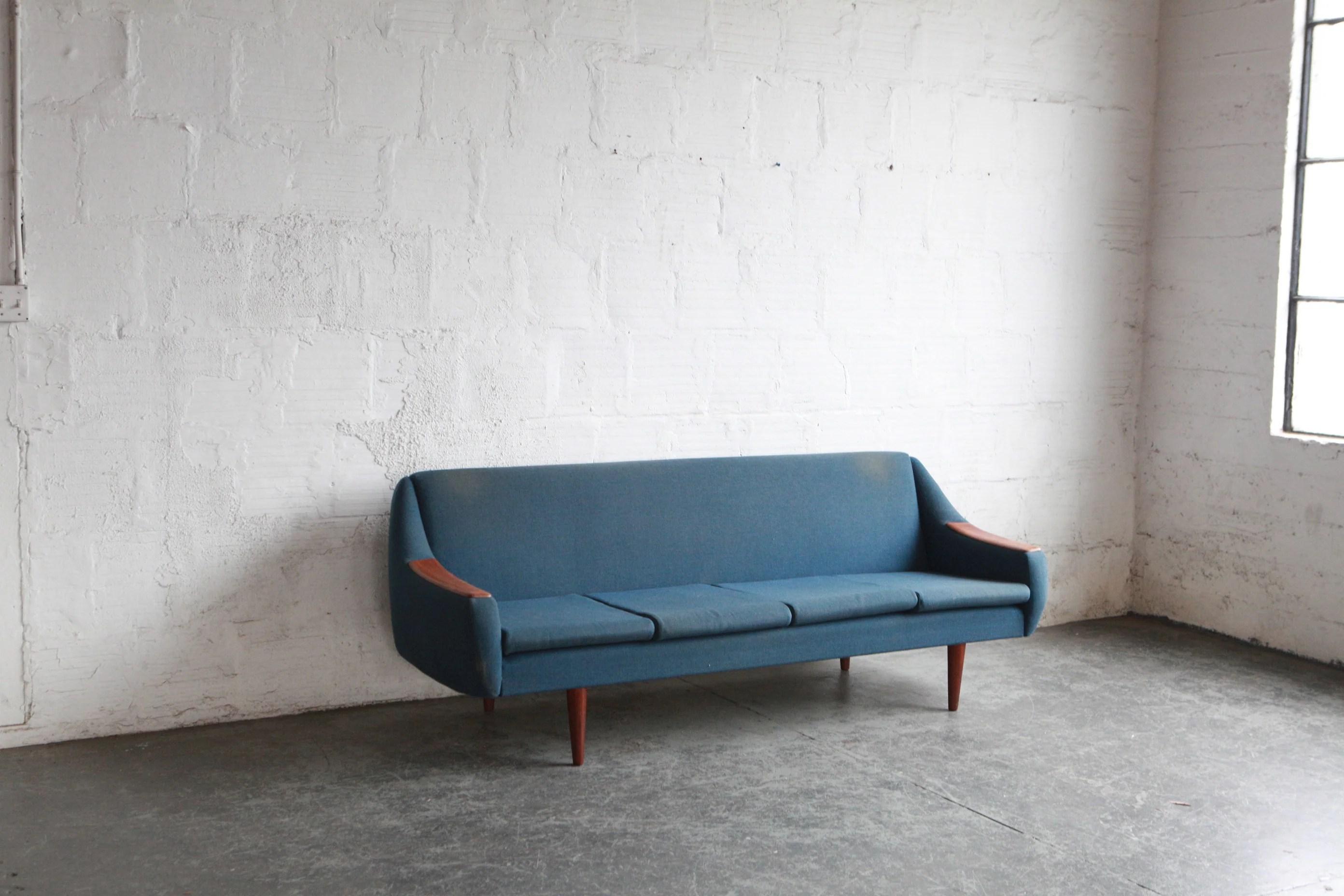Mid Century Modern Norwegian Sleeper Sofa The Good Mod