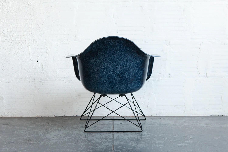 office chair upholstery repair steel price list indigo fiberglass armchair on low rod base – the good mod