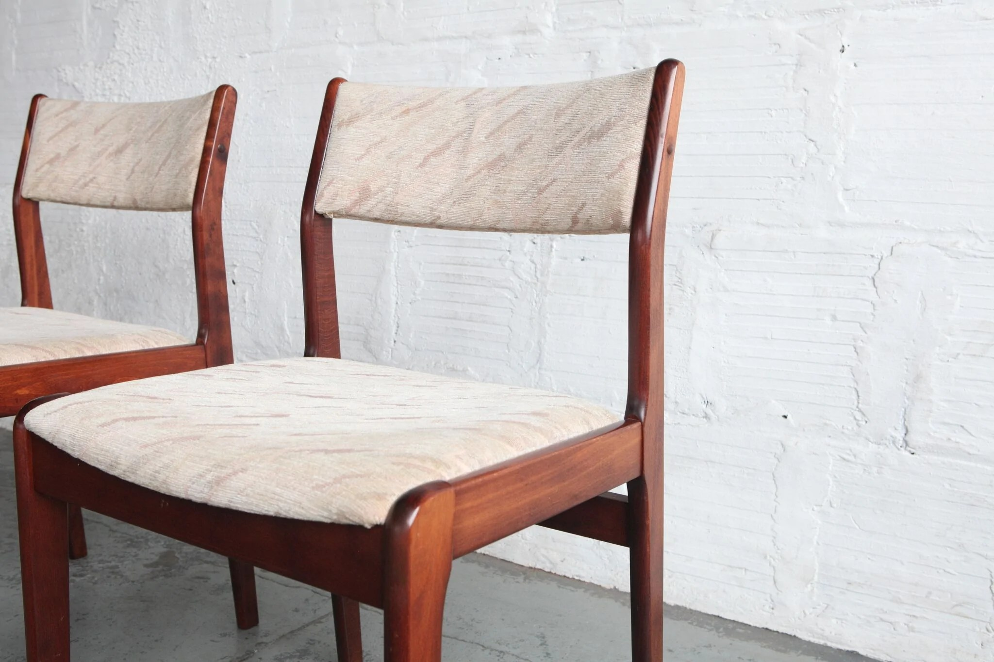 danish modern dining chairs baby folding chair with tray rosewood the good mod