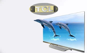 case show   TCL TV logo sticker - Case Show