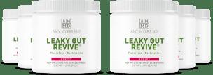 Six Jars of Leaky Gut Revive