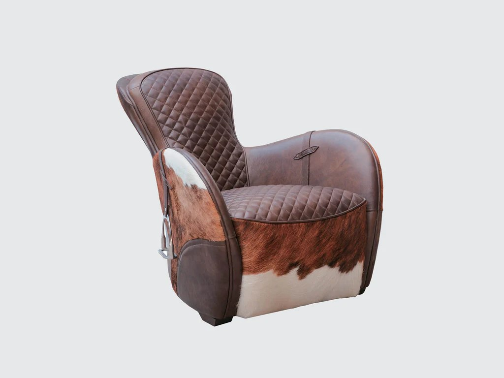 horse saddle office chair lounge replacement fabric easy by timothy oulton dawson and co