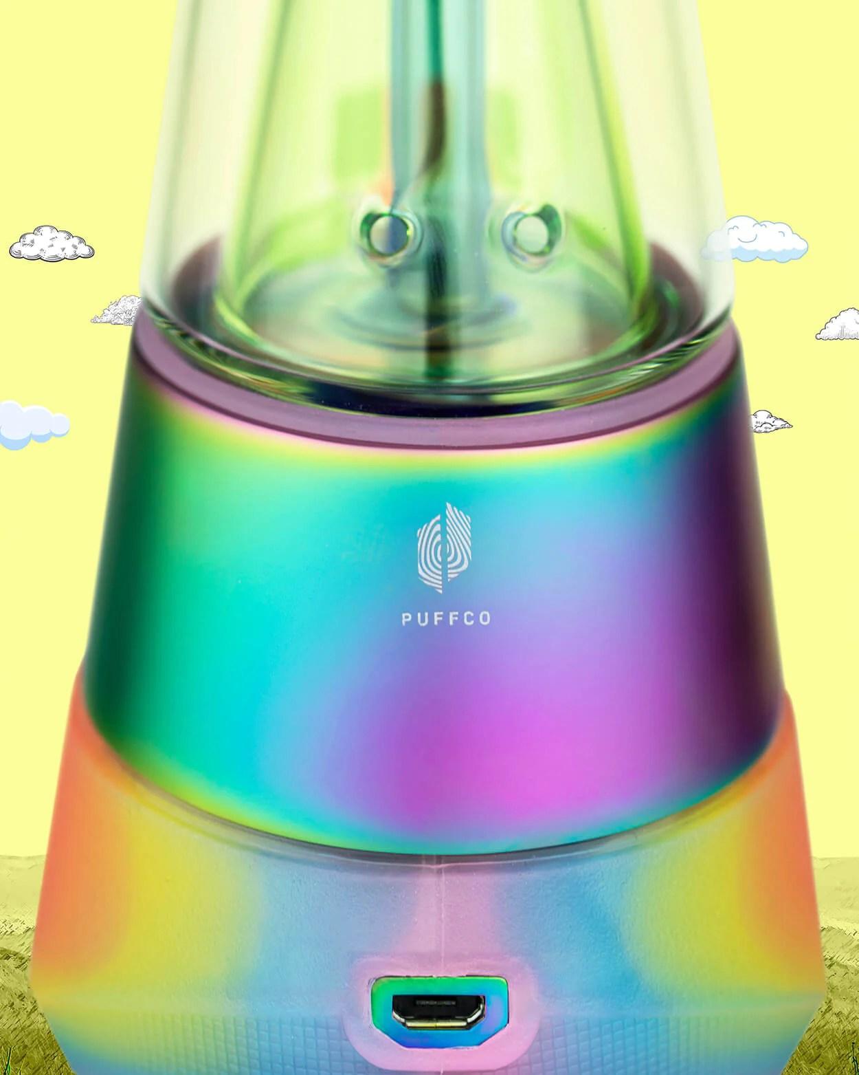 Puffco Peak Rainbow : puffco, rainbow, Puffco, Award, Winning, Concentrate, Vaporizer