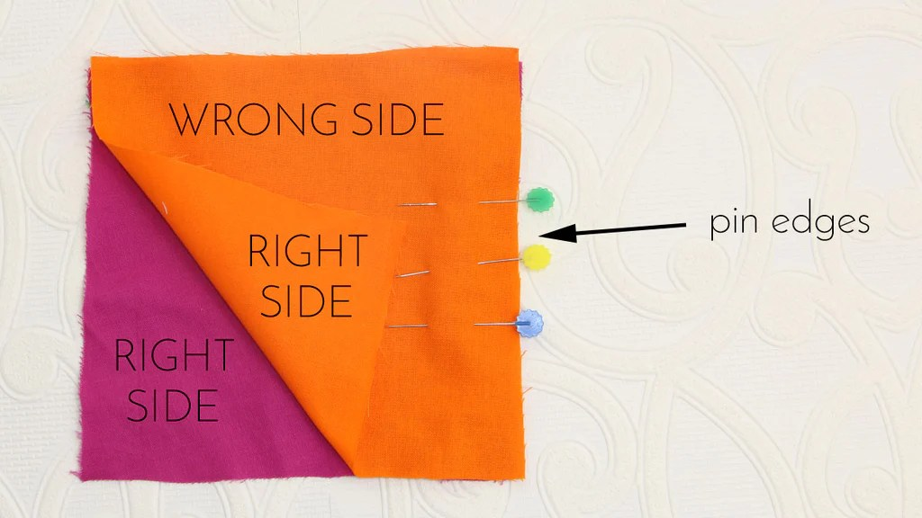 how to sew a straight seam 1