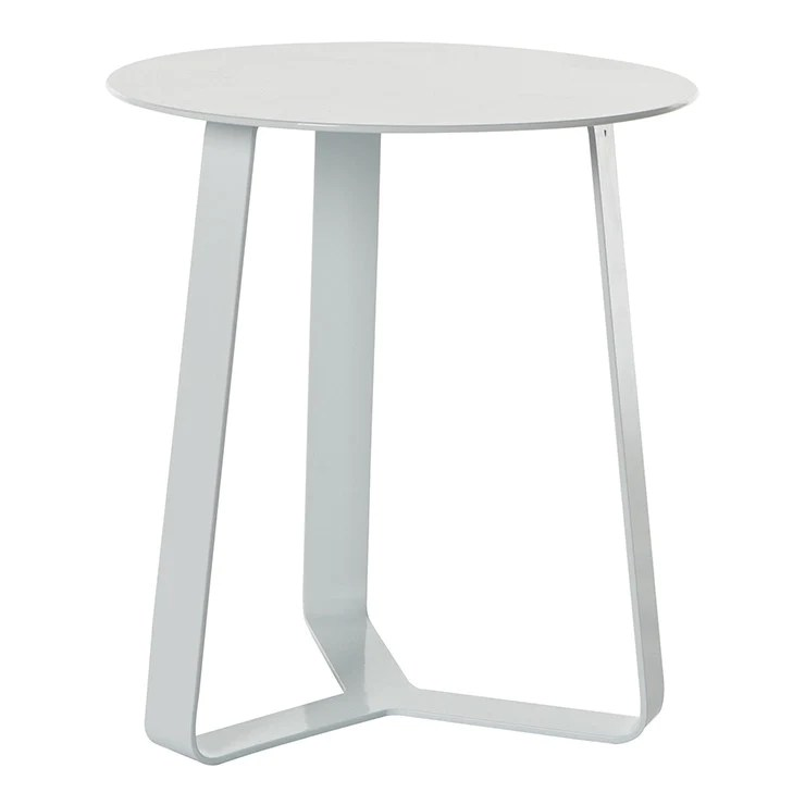 globewest cancun ali outdoor side table white