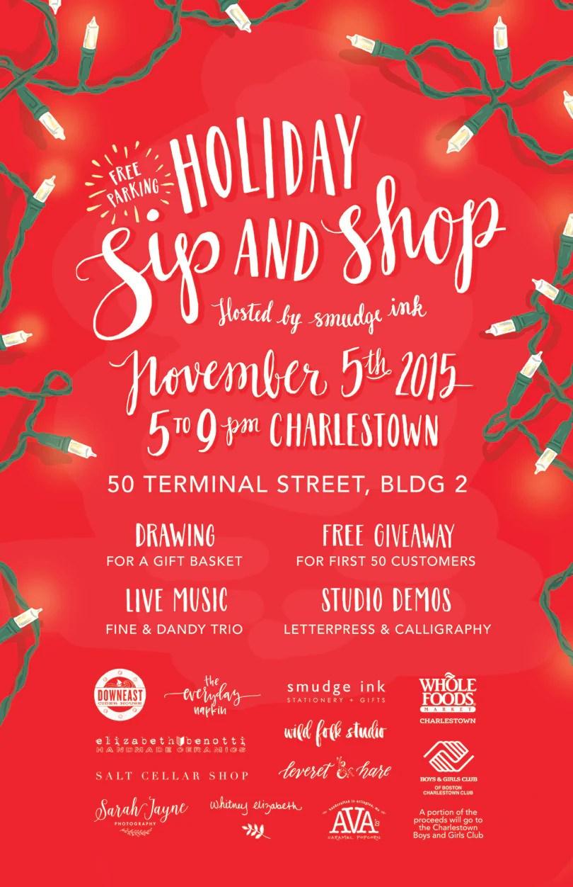 Holiday Sip Amp Shop Blog Smudge Ink