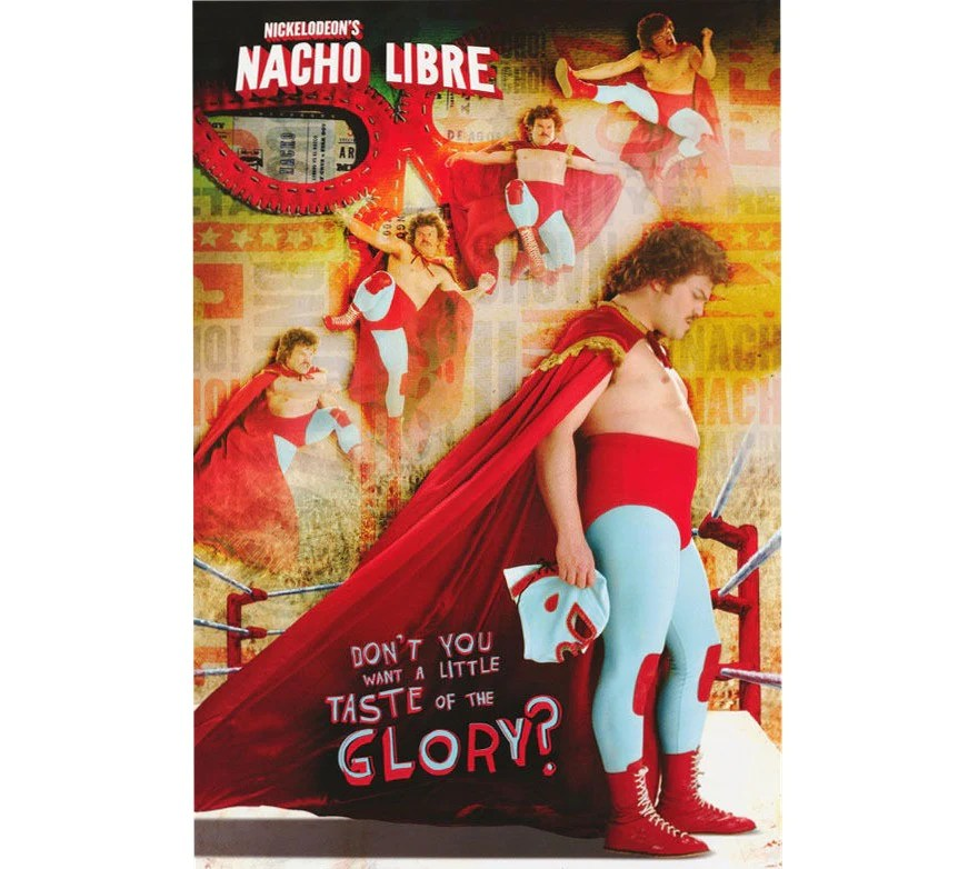 nacho libre vintage poster