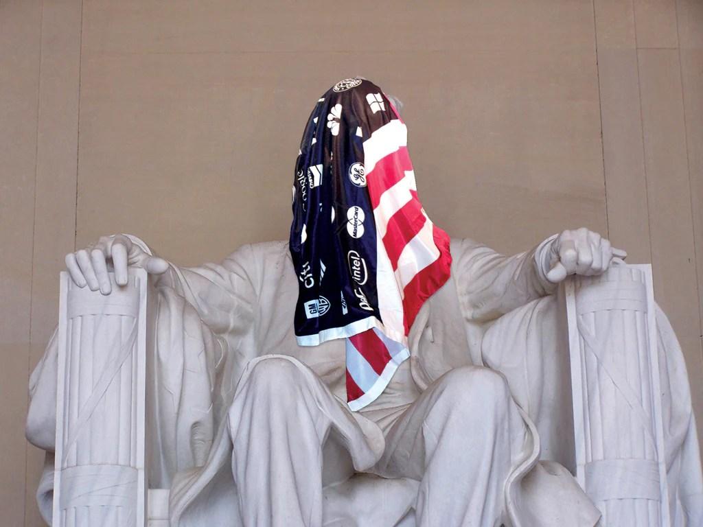 Corporate America Flag  Adbusters Media Foundation