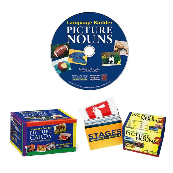 Language Builder Nouns 1 2  Language Builder Software  Stages Learning Materials