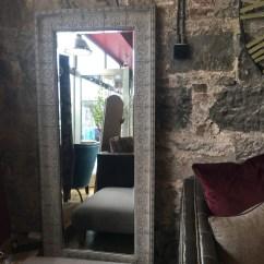 Ashley Manor Harriet Sofa In Mink Deco Autoban Large Grey Embossed Metal Mirror Annie Mo 39s
