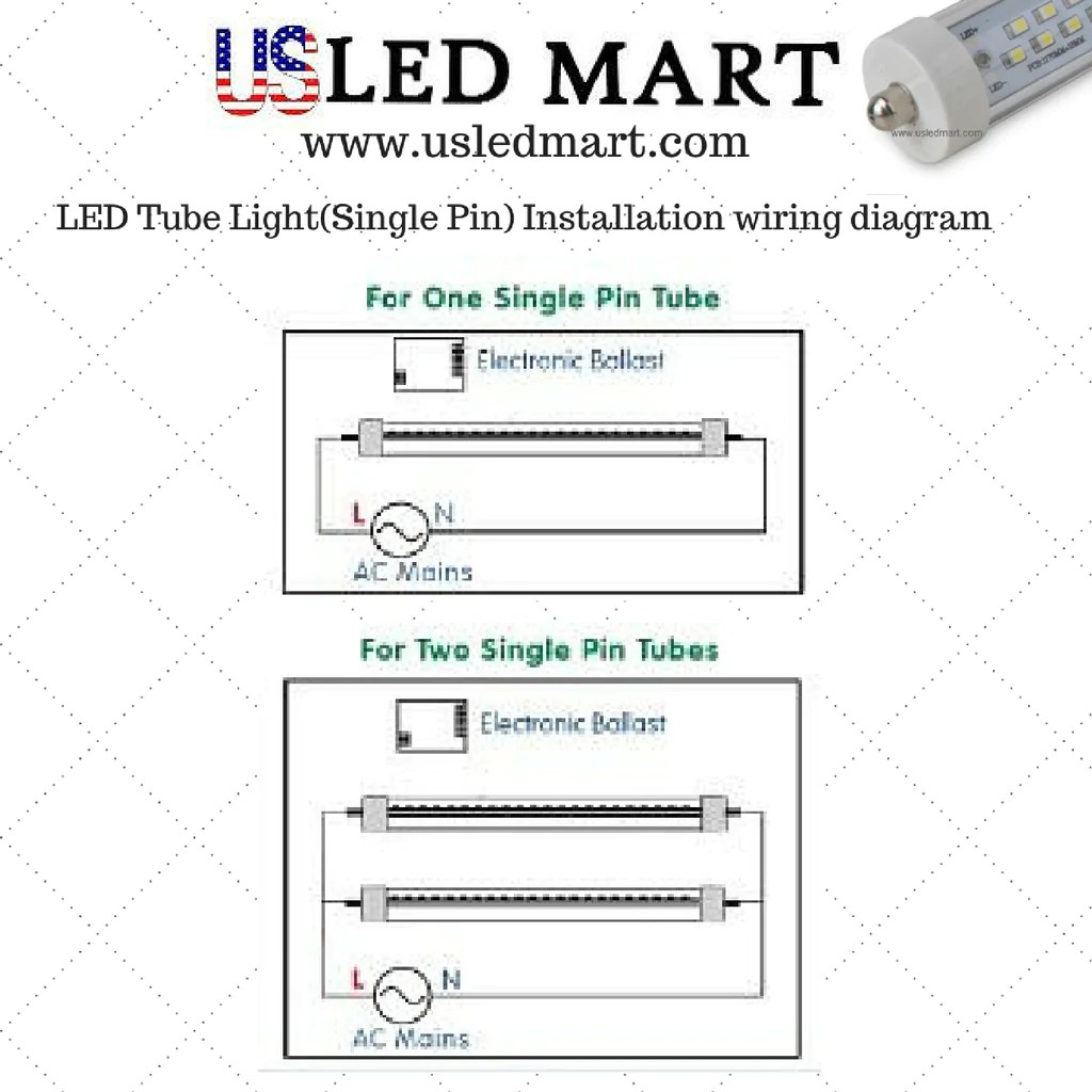 hight resolution of led tube wiring diagram images