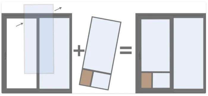 in the glass pet doors sliding door