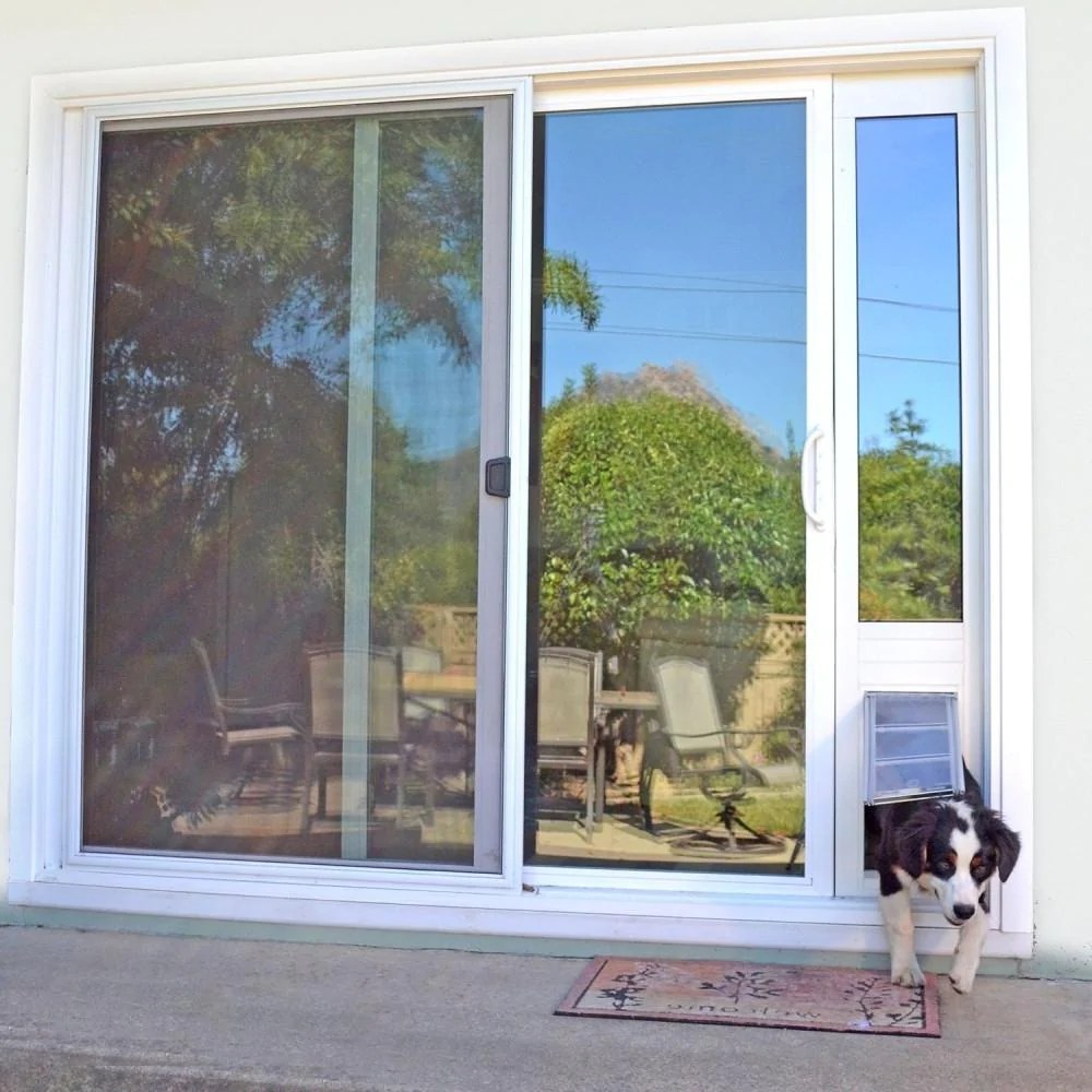 7 steps on how to install a dog door in