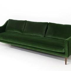 Moss Green Velvet Chesterfield Sofa Mini Bed Singapore Naples In Emerald Modshop