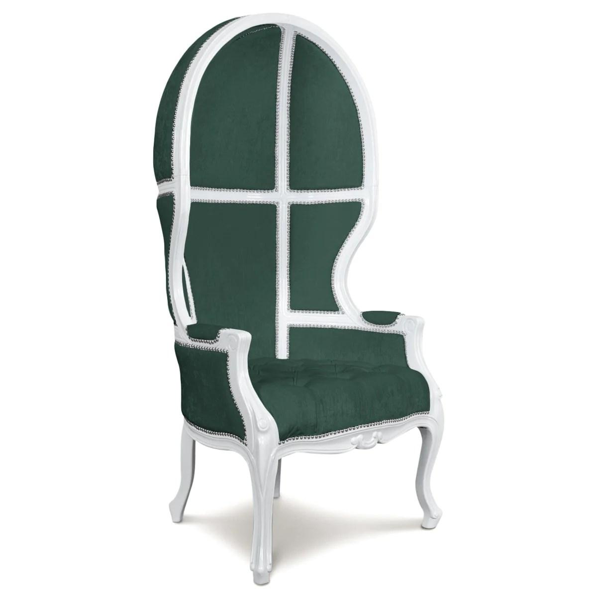 Balloon Chair in Velvet  ModShop