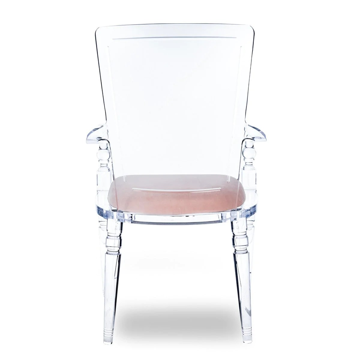 Lucite Chair Juliette Dining Arm Chair Modshop