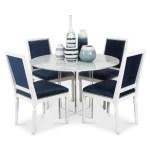 Delano Lucite Round Dining Table W X Base Modshop