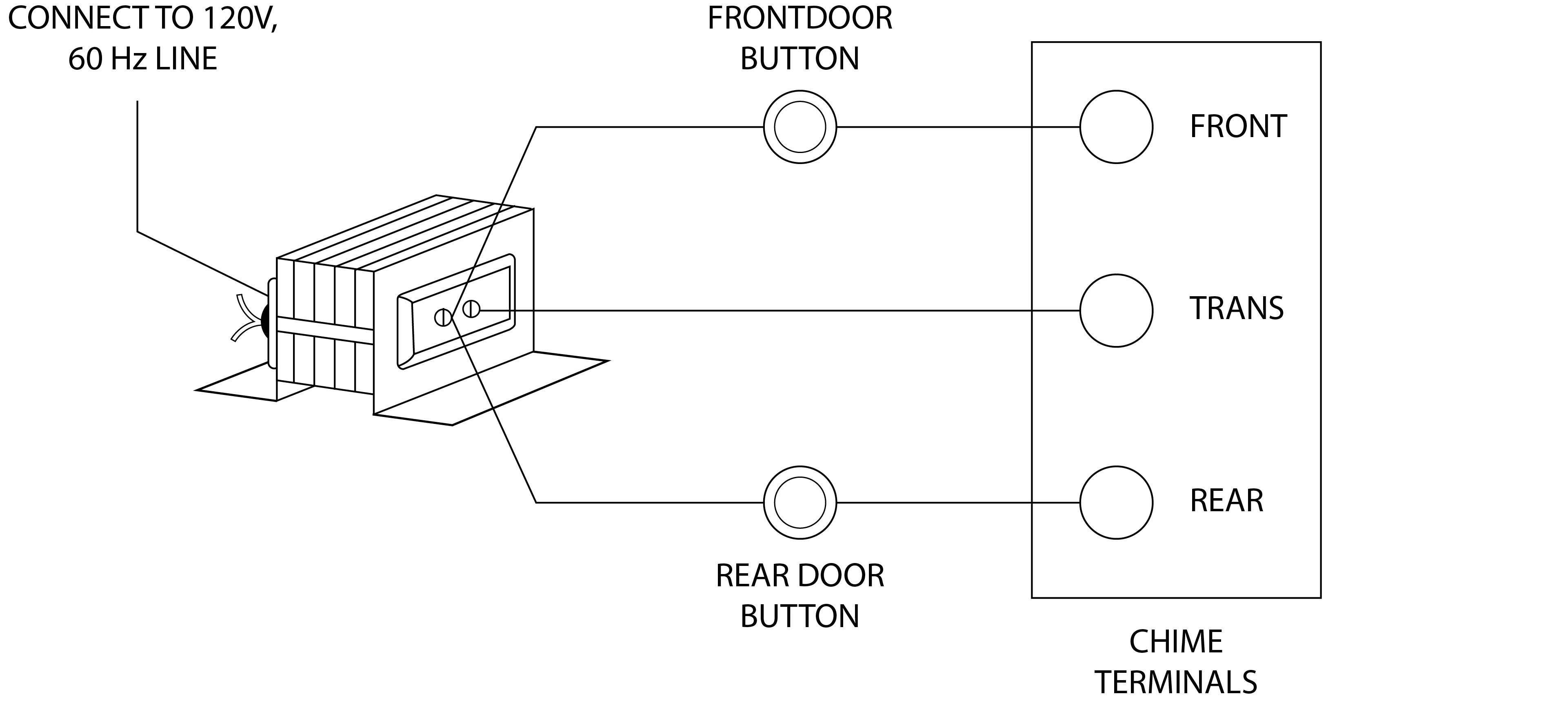 Byron Doorbell Transformer & Wiring Diagram For A