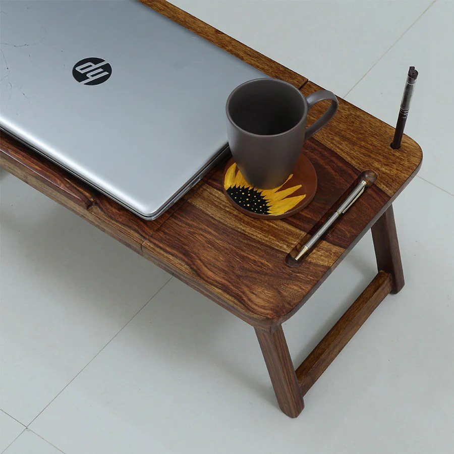 laptop table for bed or couch slate1
