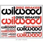 Wilwood Disc Brakes Logo Sticker Sheet Wilwood Store