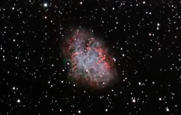 Crab Nebula taken with ZWO 290MC and Night Owl Reducer