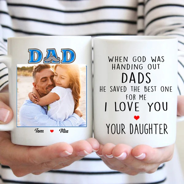 Personalized Custom Coffee Mug Father S Day Gift For