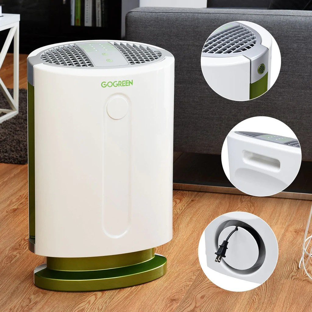 BestAir™ HEPA Small Particle Filter Air Purifier Large ...
