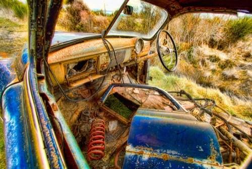 topaz adust sample old car