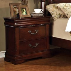 Cherry Sofa Table With Storage Dillards Covers Mandura English Style Finish Bedroom Nightstand ...