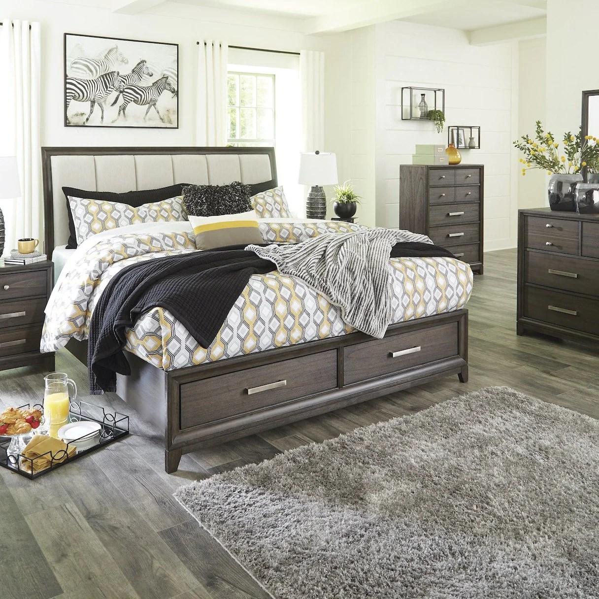 brueban storage bedroom set