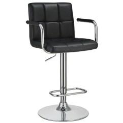 Bar Stool Chair Grey Ergonomic Ikea Canada Stools Adams Furniture Adjustable Black