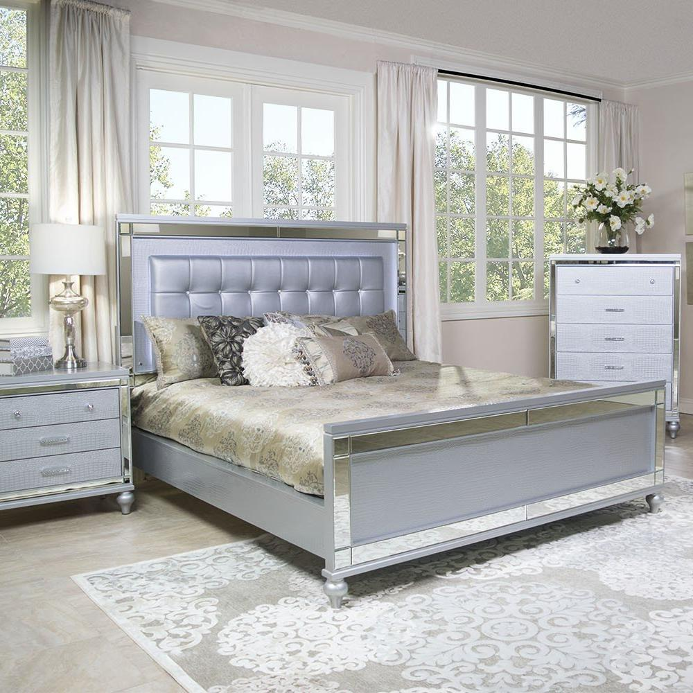 By millie fender 21 february 2020 samsung is bringing some steam to the bedroom this april. Valentino Bedroom Set Adams Furniture