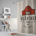 Personalized Shower Curtains Farmhouse And Ornate Designs Deja Blue Studios