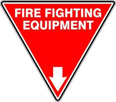EXTINGUISHER ID MARKER FIRE FIGHTING EQUIPMENT