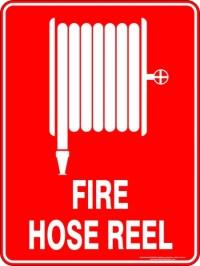 FIRE HOSE REEL  Australian Safety Signs