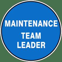 Maintenance Team Leader Cover Letter