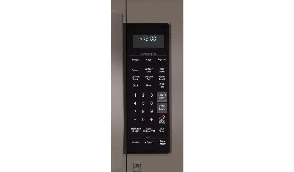 lg lmv2031bd lg black stainless steel series 2 0 cu ft over the range microwave oven with easyclean