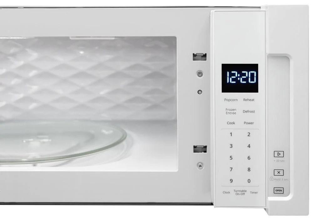 whirlpool wml55011hw 1 1 cu ft low profile microwave hood combination