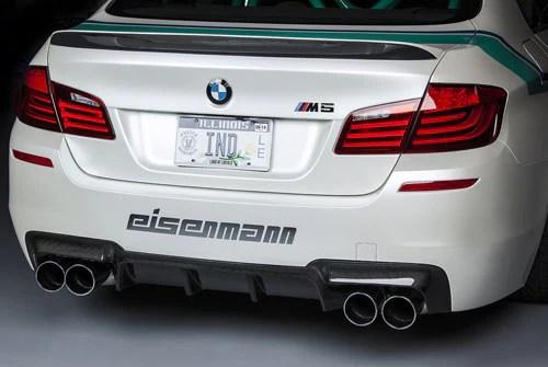 bmw eisenmann exhaust m5 f10 4 x 102mm round tips
