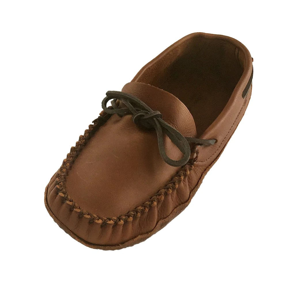 Men' Extra Wide Width Fit Genuine Leather Soft Sole