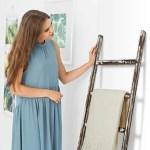 Towel Racks Quilt And Blanket Display Ladder Rustic Decorative Metal Leaning Ladder Rack 5 Ft Tall Towel Drying And Display Rack Towel Blanket Ladder Home Kitchen Belasidevelopers Co Ke