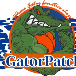 Florida Gator Rocking Chair Office Covers Depot Gatorpatch