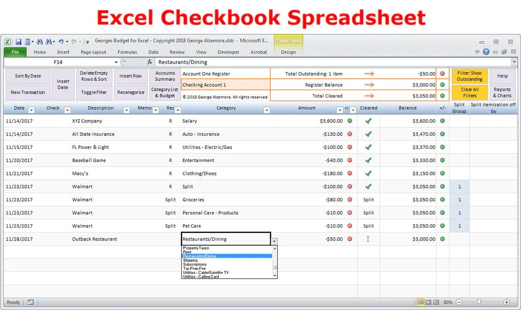 simple checkbook program - April.onthemarch.co