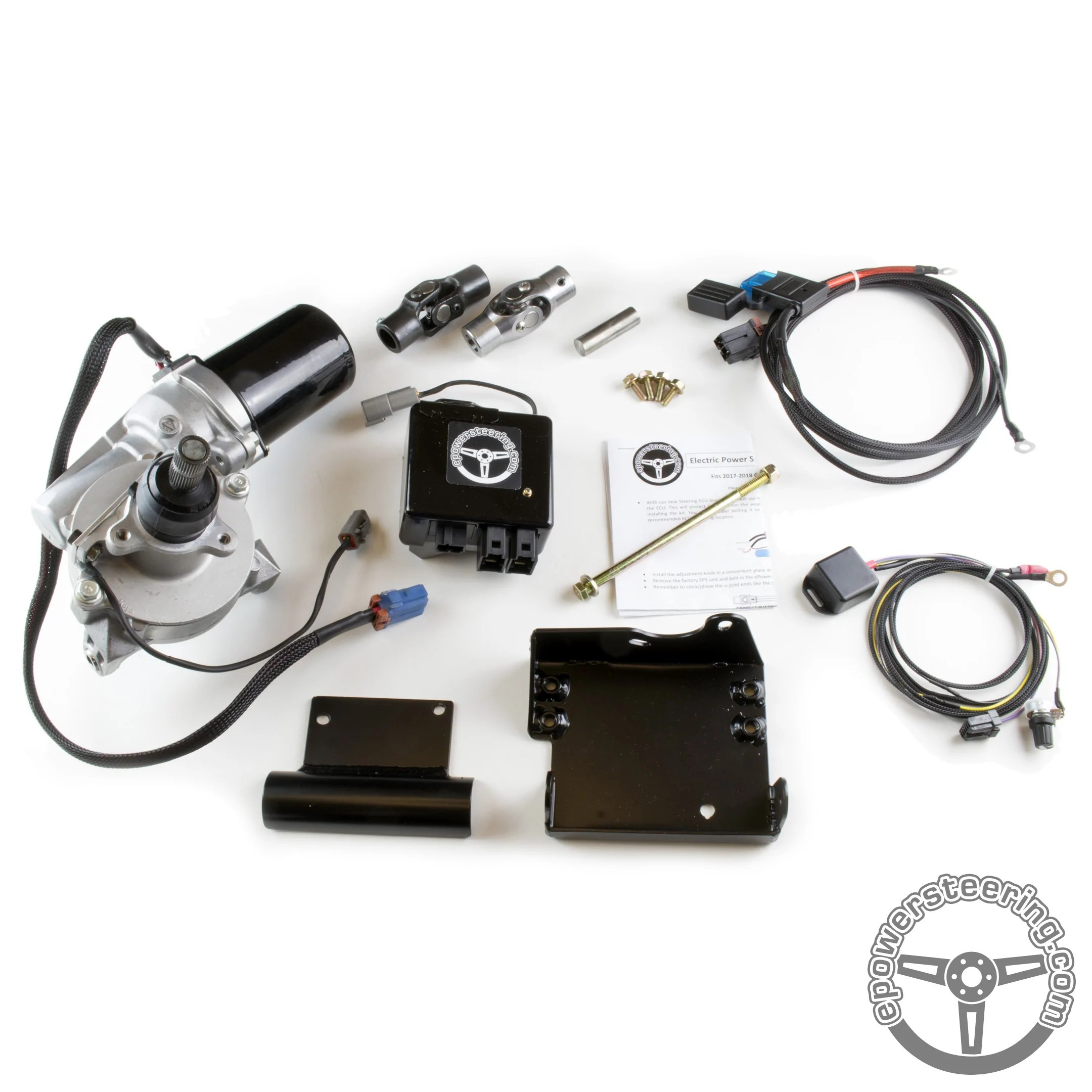 small resolution of can am x3 epowersteering kits power steering on steroids