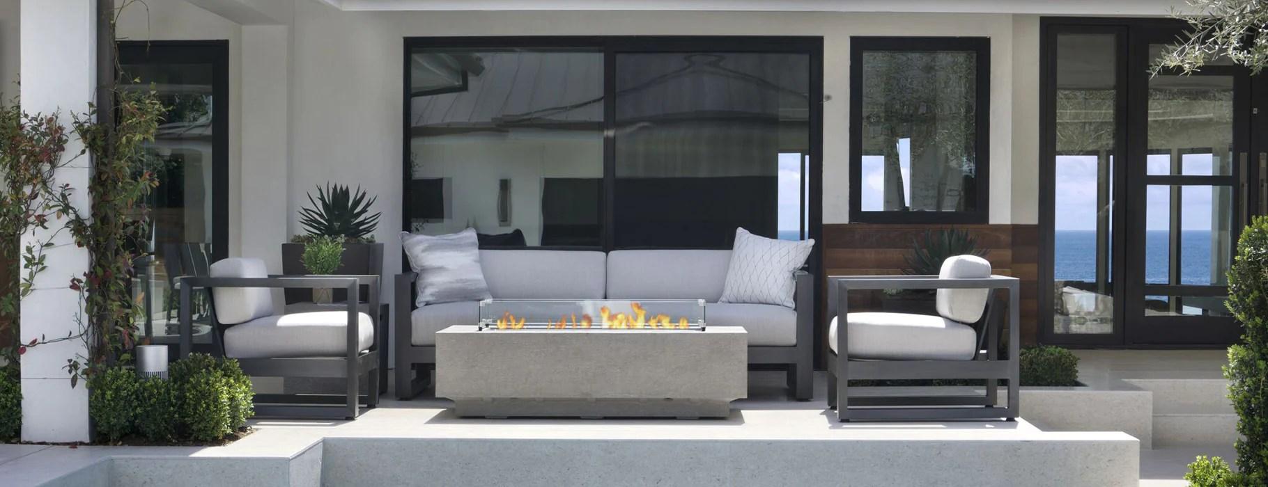 luxury outdoor furniture sunset west