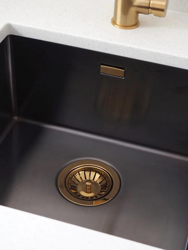 Mix Amp Match Metallics Kitchen Sink Brass Copper Waste