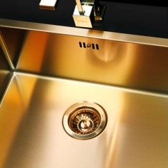 Composite Kitchen Sink Ceiling Light Fixture Bronze / Brass Finish Sink, Flush-mount | Alveus ...