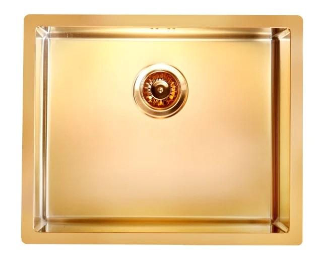 Bronze Brass Finish Kitchen Sink Stainless Steel
